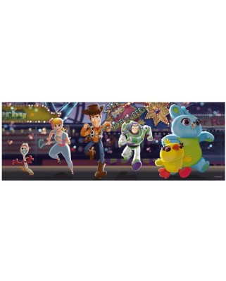Puzzle panoramic Dino - Toy Story 4, 150 piese (39328)