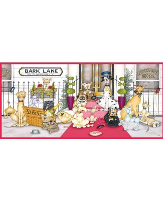 Puzzle Gibsons - Bark Lane, 636 piese (65063)
