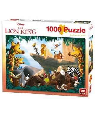 Puzzle King International - Disney - The Lion King, 1.000 piese (55830)