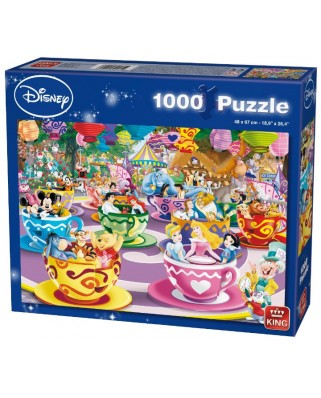 Puzzle King International - Disney Mad Tea Cup, 1.000 piese (55887)