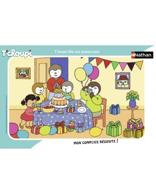 Puzzle Nathan - Tchoupi, 15 piese (86070)
