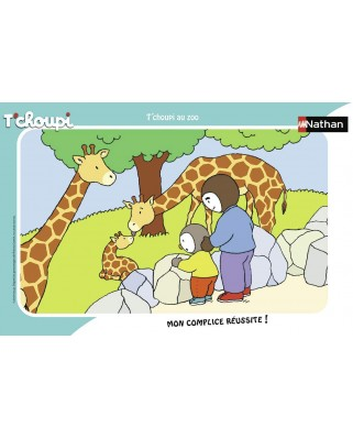 Puzzle Nathan - Tchoupi, 15 piese (86131)