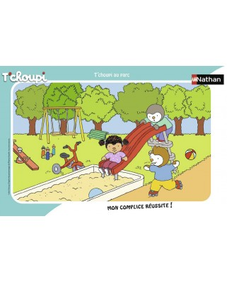Puzzle Nathan - Tchoupi, 15 piese (86132)