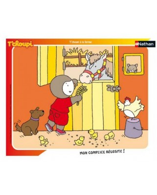 Puzzle Nathan - Tchoupi, 35 piese (86134)