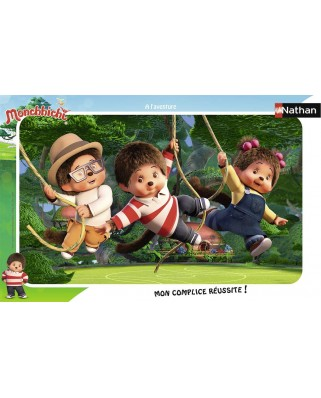 Puzzle Nathan - Monchhichi, 15 piese (86137)