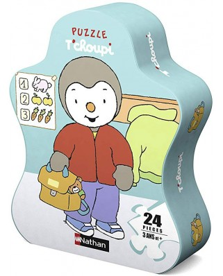 Puzzle Nathan - Tchoupi, 24 piese (86209)