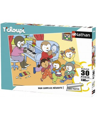 Puzzle Nathan - Tchoupi, 30 piese (86368)