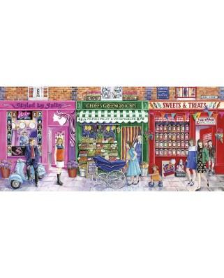 Puzzle Gibsons - Beehives, Beans & Bonbons, 636 piese (65098)