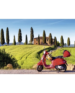 Puzzle Nathan - Travel in Tuscany, 500 piese (87220)