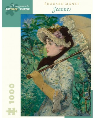 Puzzle Pomegranate - Edouard Manet: Jeanne (Spring), 1881, 1.000 piese (AA1050)