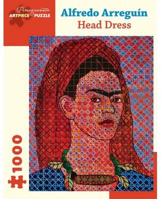 Puzzle Pomegranate - Alfredo Arreguin: Head Dress, 2014, 1.000 piese (AA1053)