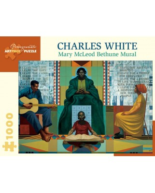Puzzle Pomegranate - Charles White: Mary McLeod Bethune, 1978, 1000 piese (AA1054)