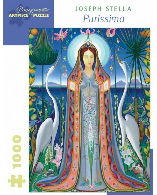 Puzzle Pomegranate - Joseph Stella: Purissima, 1927, 1000 piese (AA1063)