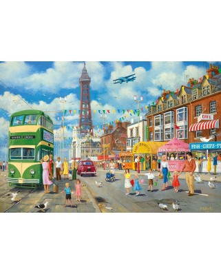 Puzzle Gibsons - Blackpool Promenade, 500 piese (47079)
