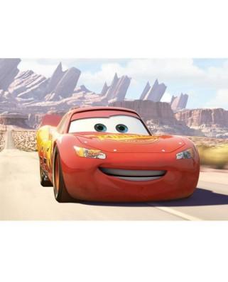 Puzzle de podea Ravensburger - Disney Cars - Leaving, 24 piese XXL (07071)