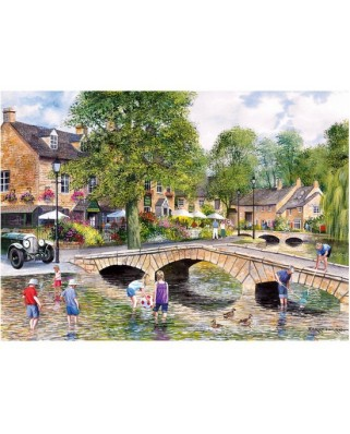 Puzzle Gibsons - Bourton-on-the-Water, Gloucestershire, 1.000 piese (9028)