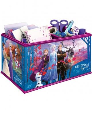 Puzzle 3D Ravensburger - Storage Box - Frozen II, 216 piese (12122)
