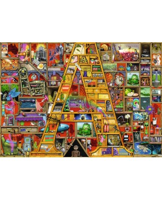 Puzzle Ravensburger - A, 1.000 piese (19891)