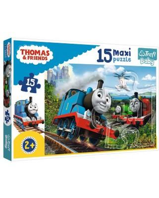 Puzzle Trefl - Thomas & Friends, 15 piese XXL (14283)