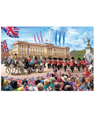 Puzzle Gibsons - Buckingham Palace, 1.000 piese (49848)