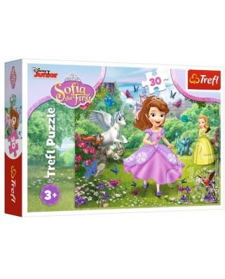 Puzzle Trefl - Disney Junior - Sofia The First, 30 piese (18252)