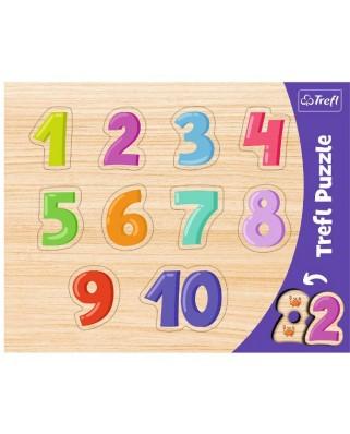 Puzzle Trefl - 1-10, 10 piese (31304)