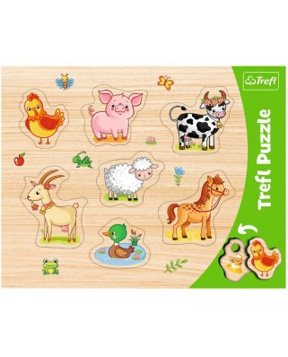 Puzzle Trefl - Farm animals, 7 piese (31305)