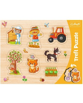 Puzzle Trefl - Town, 7 piese (31306)