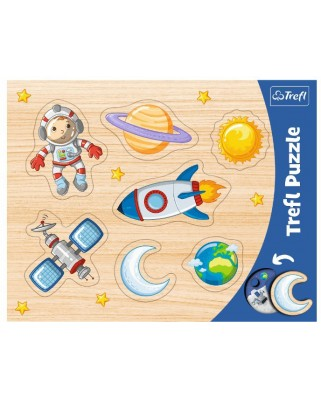Puzzle Trefl - Space Conquest, 7 piese (31310)
