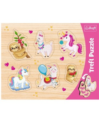 Puzzle Trefl - Unicorn, 6 piese (31311)