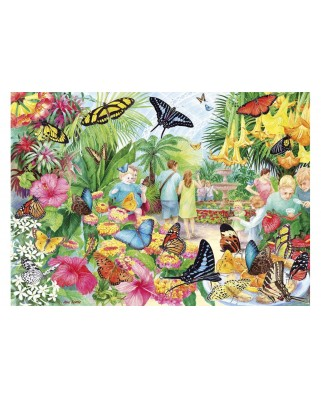 Puzzle Gibsons - Butterfly House, 1.000 piese (65111)