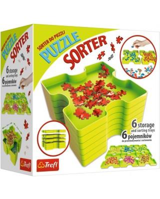 Cutii pentru sortat puzzle Trefl, 6 buc