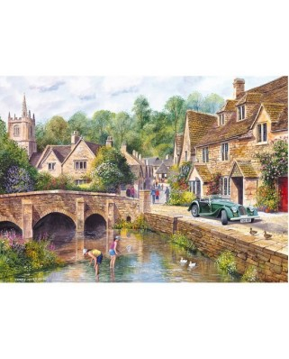 Puzzle Gibsons - Castle Combe Village, 1.000 piese (6419)