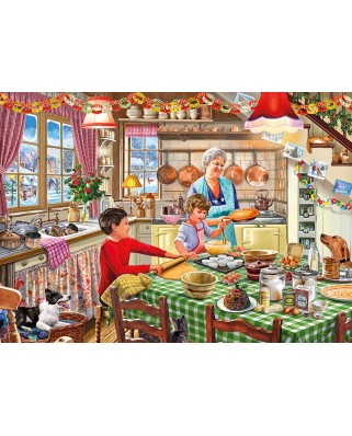 Puzzle Gibsons - Christmas Treats, 500 piese XXL (65125)