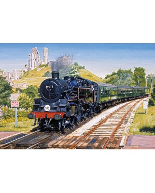 Puzzle Gibsons - Corfe Castle Crossing, 500 piese (65123)