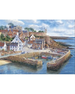 Puzzle Gibsons - Crail Harbour, 1.000 piese (936)