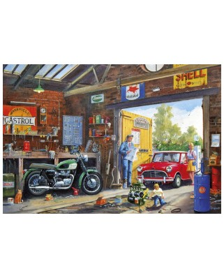 Puzzle Gibsons - Daddy's Little Helper, 100 piese XXL (65072)