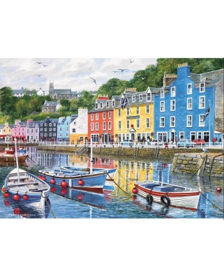 Puzzle Gibsons - Fishing Port, 1.000 piese (5721)