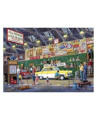 Puzzle Gibsons - Going Once, Going Twice, 1.000 piese (65114)
