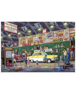 Puzzle Gibsons - Going Once, Going Twice, 250 piese XXL (65078)