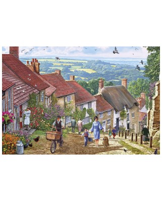 Puzzle Gibsons - Gold Hill, 100 piese XXL (65073)
