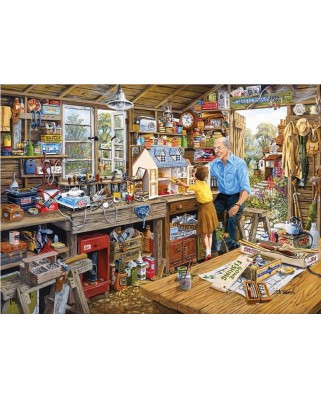 Puzzle Gibsons - Grandpa's Workshop, 1.000 piese (6409)