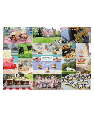 Puzzle Gibsons - Great British Bake Off, 1.000 piese (61403)