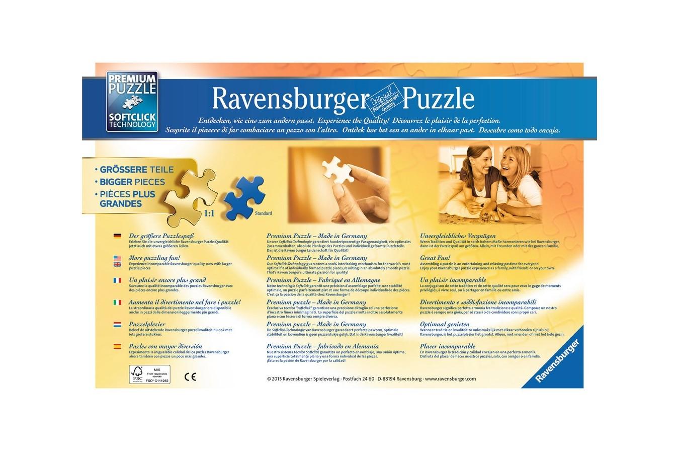 Puzzle Ravensburger - Ruine Italia, 500 piese (13648)