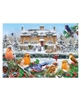 Puzzle Gibsons - Greg Giordano: A Winter Song, 1.000 piese (57580)
