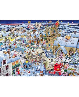 Puzzle Gibsons - I Love Christmas, 1.000 piese (5724)
