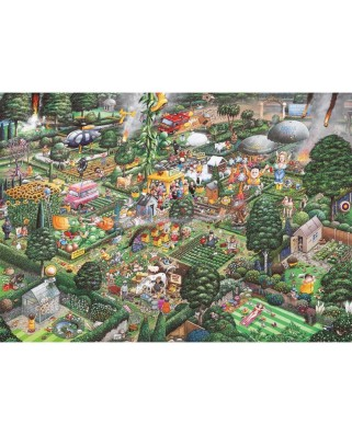 Puzzle Gibsons - I love Gardening, 1.000 piese (946)