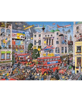 Puzzle Gibsons - I love London, 1.000 piese (944)