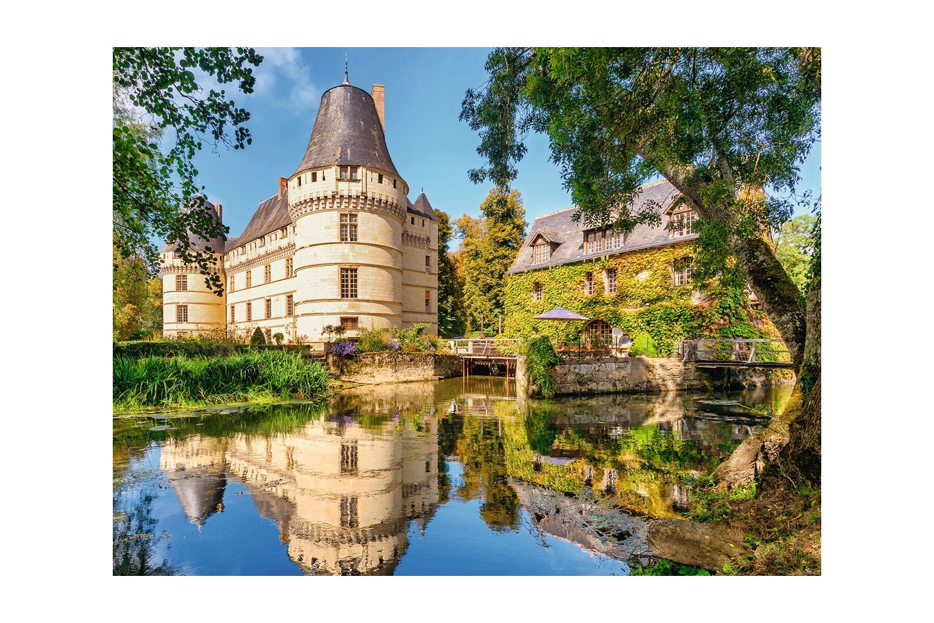 Puzzle Ravensburger - Castelul Islette, 500 piese (13650)