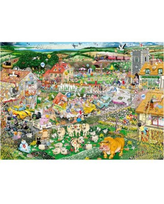 Puzzle Gibsons - I Love Spring, 1000 piese (10580)